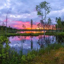 Пазл онлайн: Царство озер