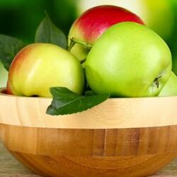 Пазл онлайн: Свежие яблочки