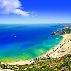 Пазл онлайн: Морское побережье