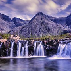 Пазл онлайн: Остров Скай, Шотландия
