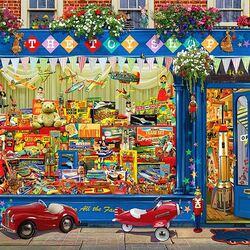 Пазл онлайн: Магазин игрушек
