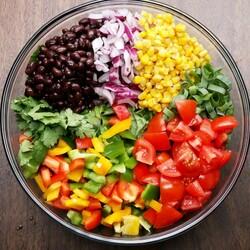 Пазл онлайн: Салат из овощей