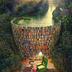 Пазл онлайн: Библиотечная дамба