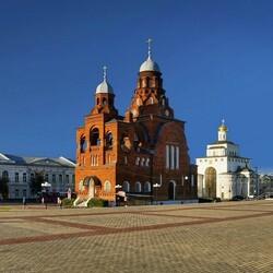 Пазл онлайн: Город Владимир