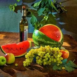 Пазл онлайн: Там, где растет виноград