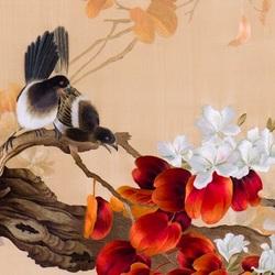 Пазл онлайн: Сучжоуская вышивка
