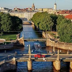 Пазл онлайн: Каналы и мосты