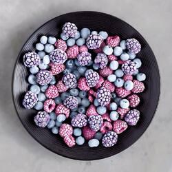Пазл онлайн: Замороженные ягоды