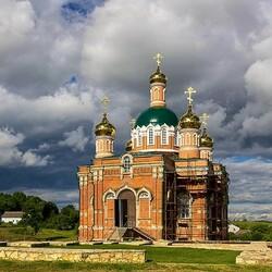 Пазл онлайн: Возрождение старого монастыря