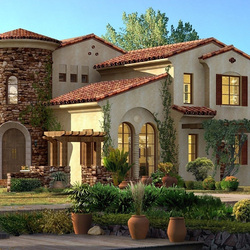 Пазл онлайн: Красивый дом
