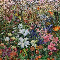 Пазл онлайн: Цветочная поляна
