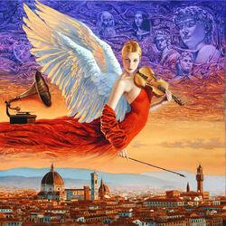 Пазл онлайн: Ангел Флоренции