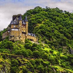 Пазл онлайн: Замок в горах
