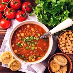 Пазл онлайн: Томатный магрибский суп