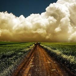 Пазл онлайн: Густые облака