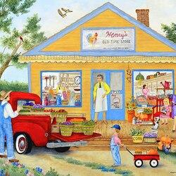 Пазл онлайн: Магазин Генри