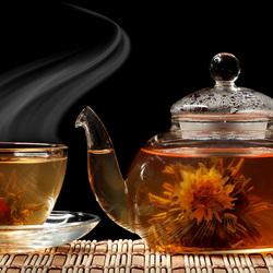 Пазл онлайн: Чашечку чаю?