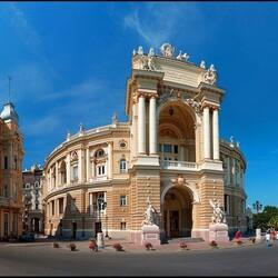 Пазл онлайн: Одесский театр