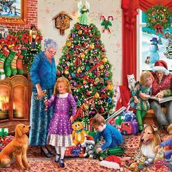 Пазл онлайн: Подарки детям