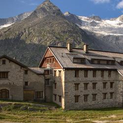 Пазл онлайн: Отель в горах