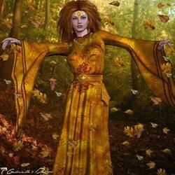 Пазл онлайн: Великолепие осеннего танца