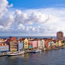 Пазл онлайн: Городок на островке