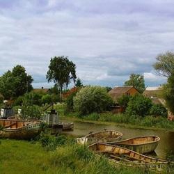 Пазл онлайн: Рыбацкий поселок