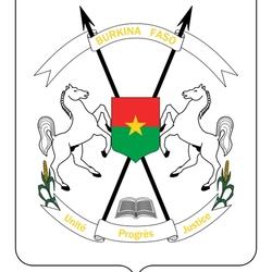 Пазл онлайн: Герб Буркина Фасо