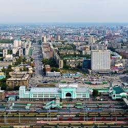 Пазл онлайн: Новосибирск