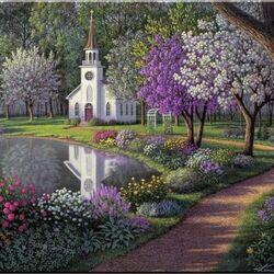 Пазл онлайн: Святая церковь
