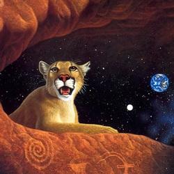 Пазл онлайн: Под созвездием Льва
