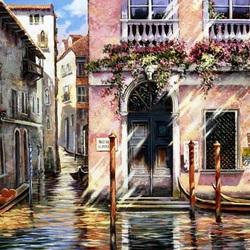 Пазл онлайн: Улочки Венеции