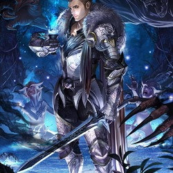 Пазл онлайн: Серебряный воин