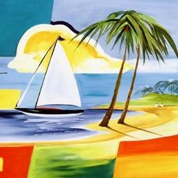 Пазл онлайн: Карибская мечта