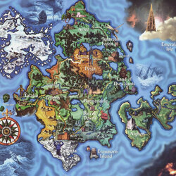 Пазл онлайн: Карта Эратии