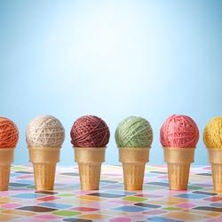 Пазл онлайн: Вкусные клубочки