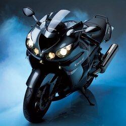 Пазл онлайн: Kawasaki Ninja