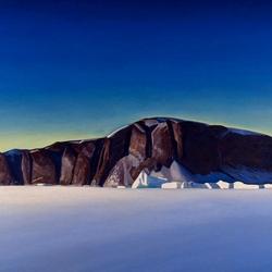 Пазл онлайн: Гренландское побережье