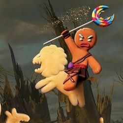 Пазл онлайн: Рыцарь Печенька
