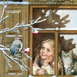 Пазл онлайн: Русские окна