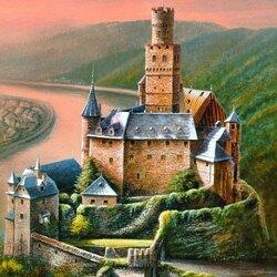 Пазл онлайн: Замок Марксбург