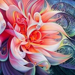 Пазл онлайн: Танцующий цветок