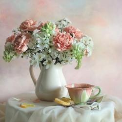 Пазл онлайн: Чай с лимонными дольками