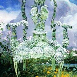 Пазл онлайн: Кружева королевы Анны