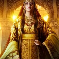 Пазл онлайн: Восточная царица