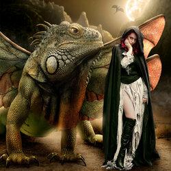 Пазл онлайн: Время дракона