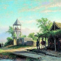 Пазл онлайн: На Кавказе