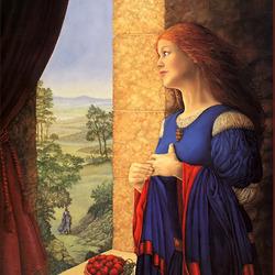 Пазл онлайн: Королева Гуиневьера