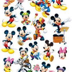 Пазл онлайн: Такой разный Микки Маус