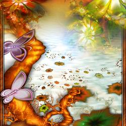 Пазл онлайн: Исчезающие цветы